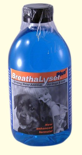 BreathaLyser Plus Drinking Water Additive for Dogs and Cats, 250 ml, My Pet Supplies