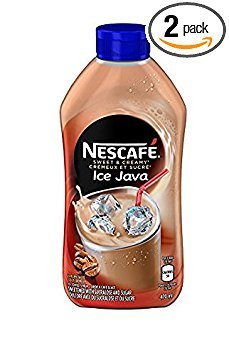 Nescafe Ice Java Coffee Syrup 470ml - Pack of 2 - Imported from Canada ()