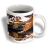 mug_189549 Danita Delimont - Brian Jannsen - Memorials - Cherry blossoms and the Jefferson Memorial at dawn, Washington DC, USA - Mugs