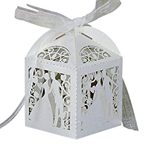 Bride and Groom Candy Box