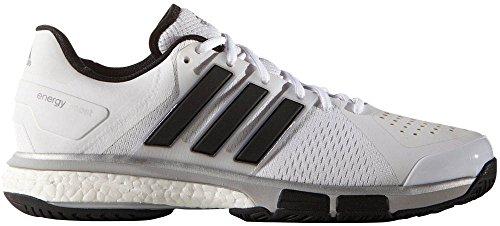 Scarpa Da Tennis Adidas Performance Mens Energy Boost Bianco-nero-argento Soddisfatte