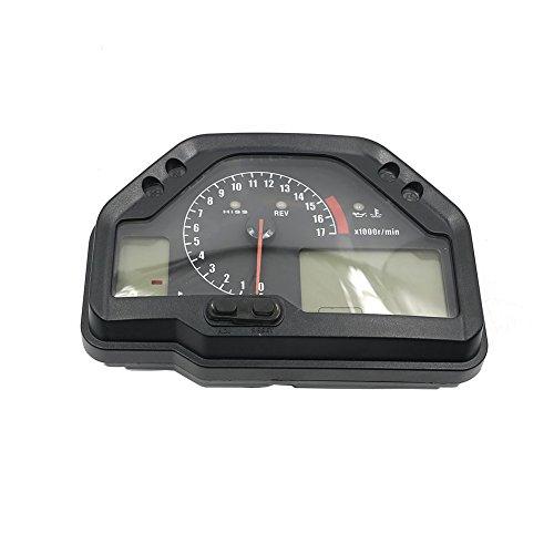 Alpha Rider Motorcycle Speedometer Tachometer Gauges Cluster Instrument Assembly For Honda CBR600RR F5 2003 - 2006 ()