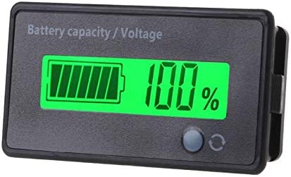 UK LED 12V Lead Acid Battery Capacity Indicator Voltage Meter Dual USB Charger