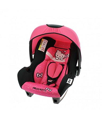 MyCarSit Hello Kitty - Asiento de coche para niños, 0 a 13 kg: Amazon.es: Bebé