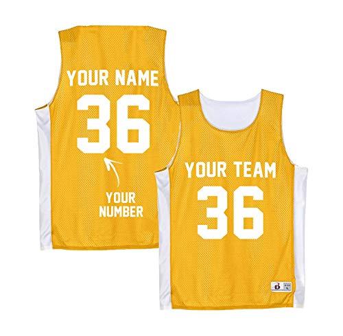 Custom Basketball Jersey Reversible - Hockey Practice Jerseys Women - Lacrosse Pinnies - Jerseys Reversible Hockey