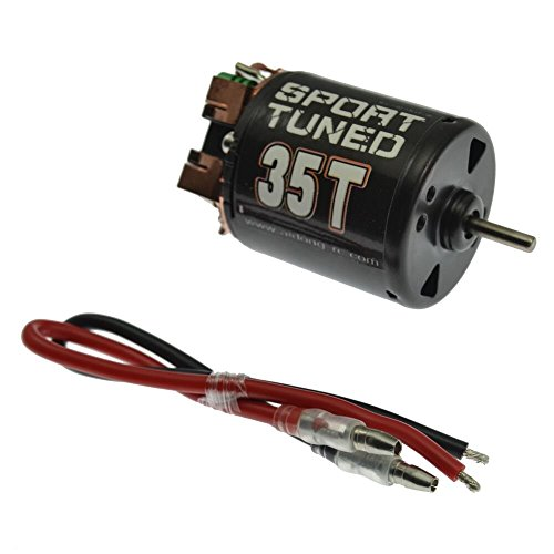 540Modified Brushed Motor 35T/45T/55T for CC01/F350/D90/AXIAL/SCX10 Rock Crawler car (35T)