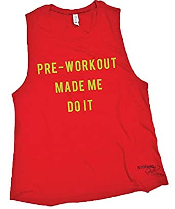 Amazon.com: Strong Girl Clothing Women's Pre Workout Made ...