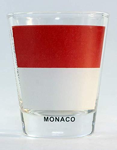 Monaco Flag Shot Glass