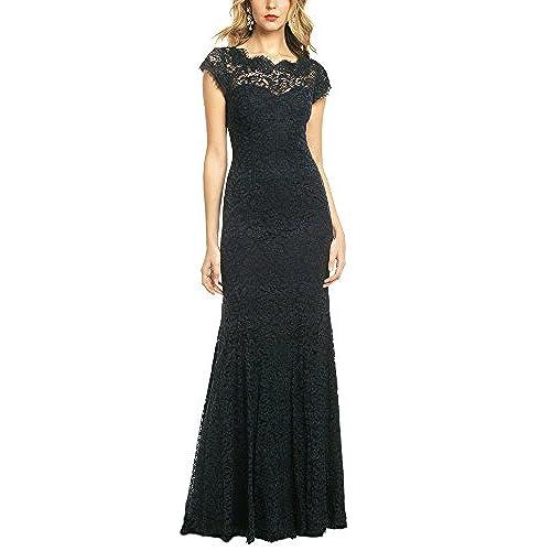 Long Black Dress: Amazon.com