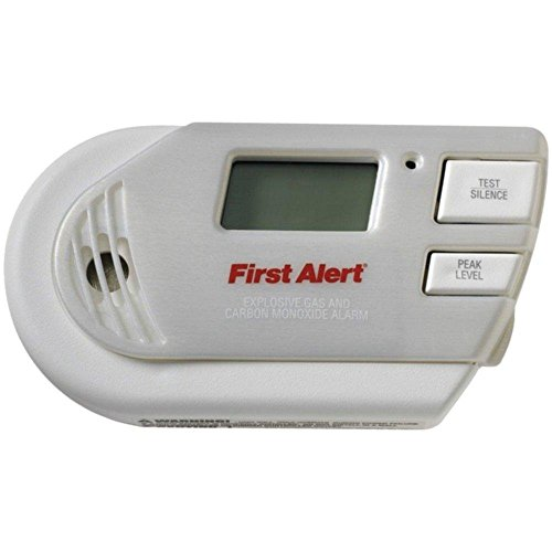 FIRST ALERT GC01CN 3-in-1 Explosive Gas & Carbon Monoxide...