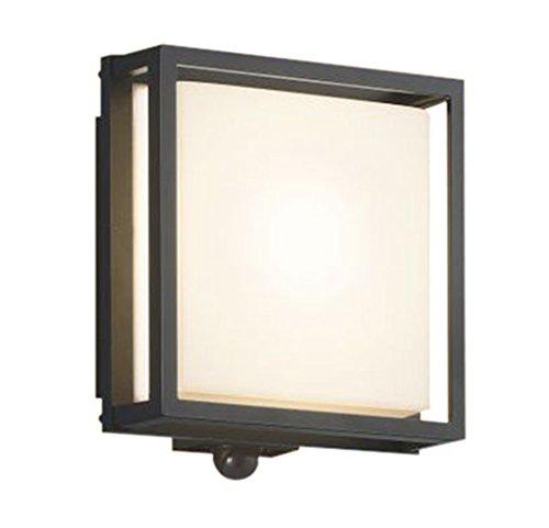 コイズミ照明 人感センサ付和風玄関灯 マルチタイプ 白熱球40W相当 電球色 AU45056L B01G8GP5HC 15184