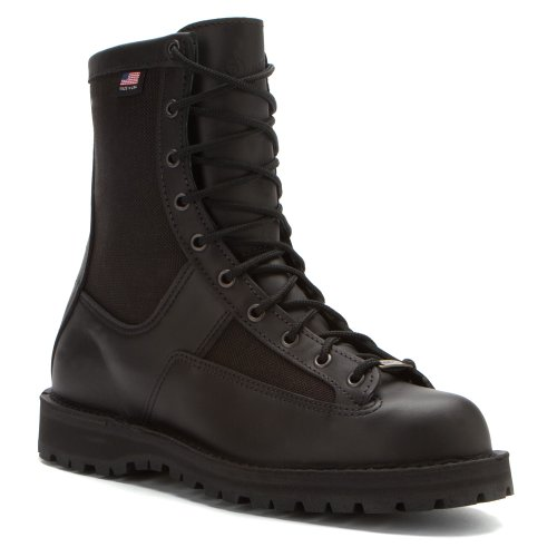 Danner Mens Acadia 8 Boot Black Polishable Leather