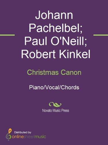 Christmas Canon (Chanson Christmas De)