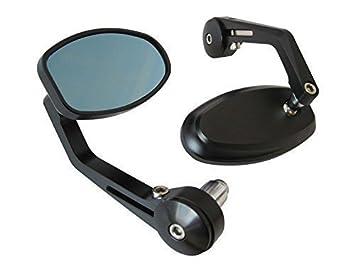Bar End Spiegels : Bar end spiegel spiegels mirror ovaal zwart te koop dehands be