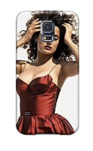 New Arrival Salma Hayek Red Dress For Galaxy S5 Case Cover