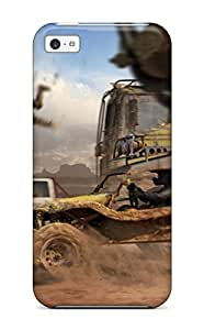 New Tpu Hard Case Premium Iphone 5c Skin Case Cover(monstertrack Motorstorm Video Game Other)