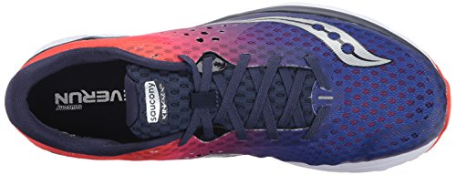 Saucony Men's Kinvara 8 Running Shoe Navy Orange view buy cheap under $60 clearance sneakernews best place to buy online LAT7lXJQ8E