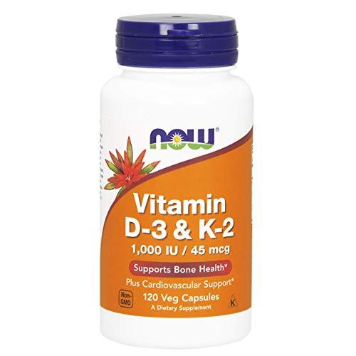 Cheap NOW Vitamin D-3 & K-2,120 Veg Capsules
