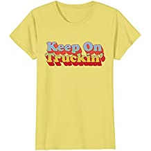 Seventies Shirts: Keep On Trucking Retro Vintage 70s T-Shirt