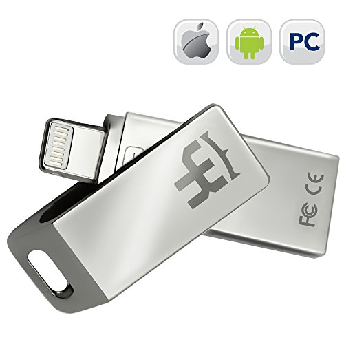 IOS Flash Drive IPhone YKing 3 in 1 - 256Gb - Flash Drive for Android-IPhone Flash Drive-IPad Flash Drive-Micro USB Flash Drive-IPhone USB Flash Drive-IPhone Lightning Flash Drive-Android Flash Drive by Y-king