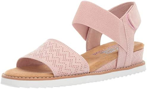Skechers Women's Desert Kiss Stretch Quarter Strap Sandal