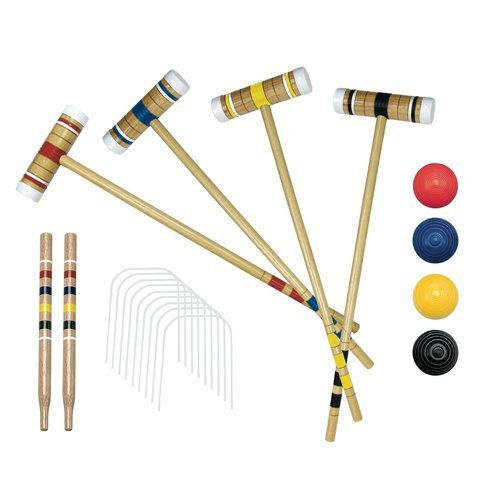 Franklin Recreational 4 Player Croquet Set With Carry Bag