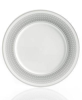 Hotel Collection Graphite Ombre Accent Salad Plate