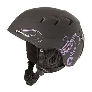 Cratoni Casco de esquí C de Cross Black Purple M/L 50-54cm