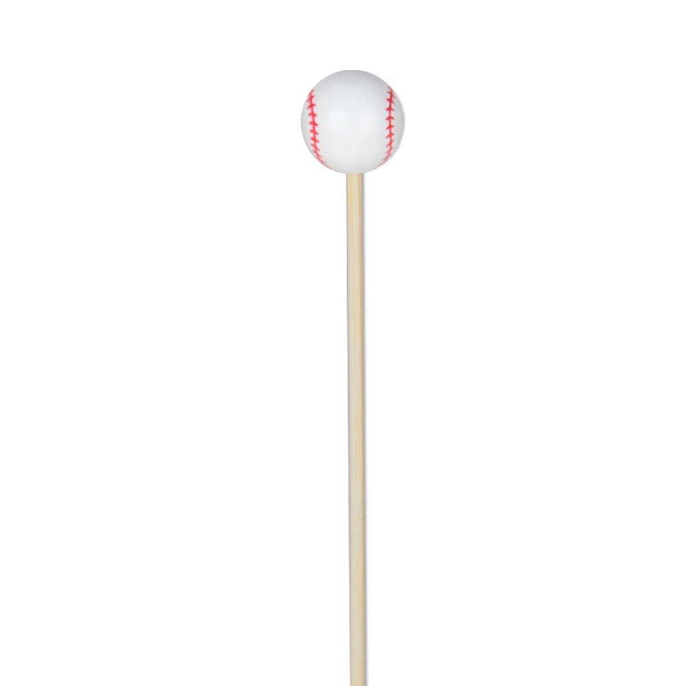 Baseball Appetizer or Sandwich Picks / Swizzle Stick - 4 3/4'' - 100ct