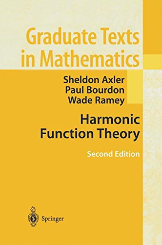 137: Harmonic Function Theory (Graduate Texts in Mathematics)