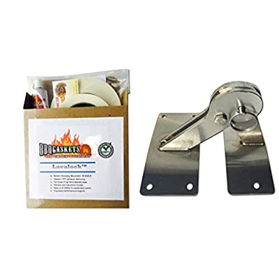 WSM Hinge & Gasket Kit, Weber Smokey Mountain Smoker Grill 18.5 22.5