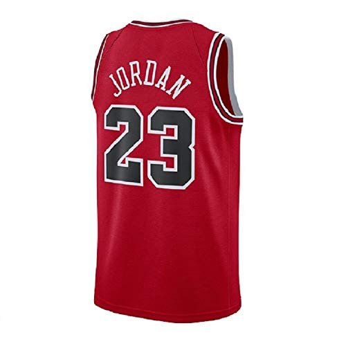 (Youth 23 Jersey Kid's Basketball Jerseys Boy's Retro Jersey Red(S-XL) (XL))