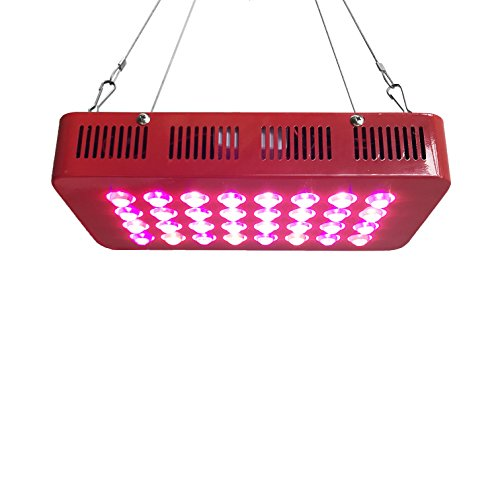 Hydrobest 300W LED Grow Light Full Spectrum for Hydroponic Indoor Plants Growing Veg and Flower perfect for 24''x24''x48''and 48''x24''x60'' grow tent kit and package by Hydrobest