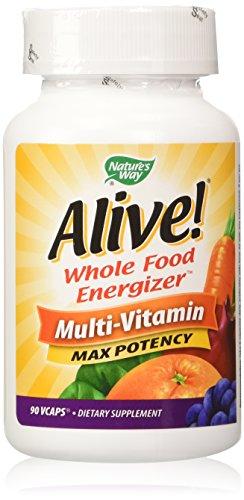 Alive! Max Potency Multi-Vitamin,, 90 - 90 Daily Capsules