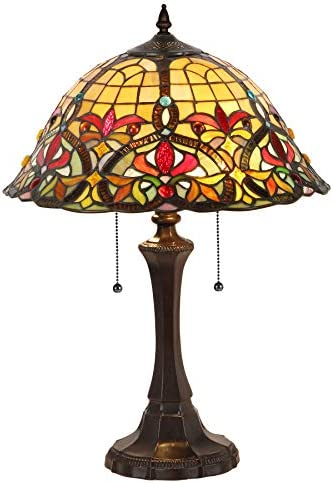 Victorian Tiffany Glass Lamp