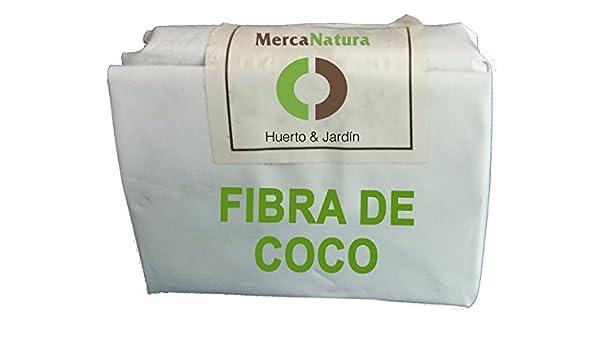 Sustrato de fibra de coco 3 L: Amazon.es: Jardín