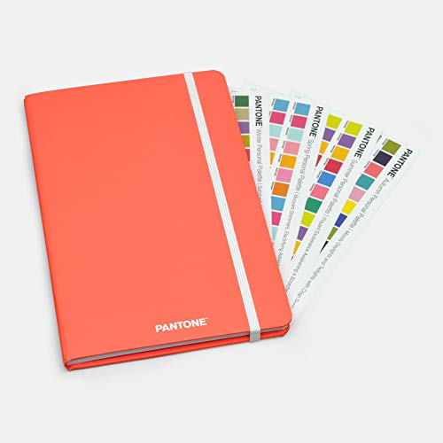 Pantone™ 2019 Fashion Perpetual Compact Weekly Planner from BrownTrout™ '19 Color of The Year Living Coral 16-1546