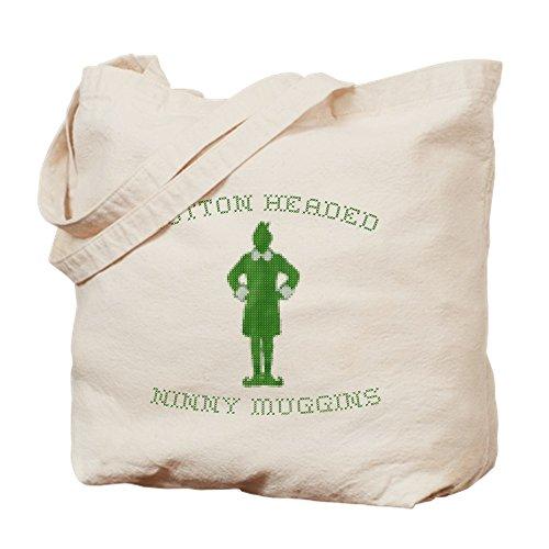 CafePress–Cotton Headed Ninny Muggins elfo–Gamuza de bolsa de lona bolsa, bolsa de la compra Small caqui