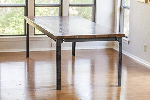 The Kindred Dining Table Legs: Industrial Legs