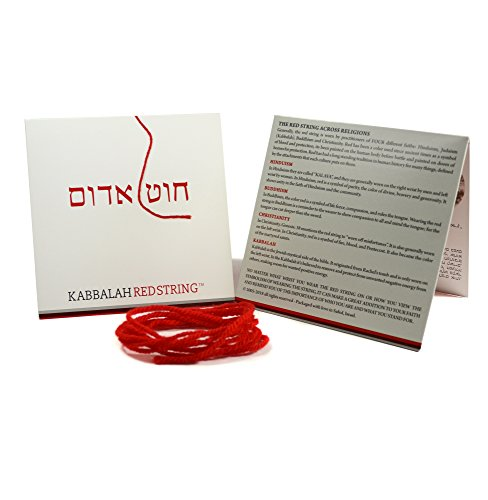 The Original Kabbalah Red String Bracelet from Israel - Red String Bracelet Pack 60 Inch Red String for up to 7 Evil Eye Protection Bracelets - Prayer, Blessing & Instructions Included!