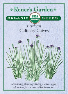 """Chives, """"Culinary"""" Heirloom - Certified Organic Seeds"""