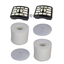 Shark rotator filter NV500 Sets, Fit for Rotator Professional Lift-Away NV500, NV501, NV502, NV503, Vacuums Part # XFF500 & XHF500, include 2 HEPA and 2 Foam & Felt Filter [ABBOTT]
