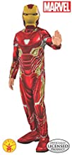Rubie's Marvel Avengers: Endgame Child's Iron Man Mark 50 Costume & Mask, Large