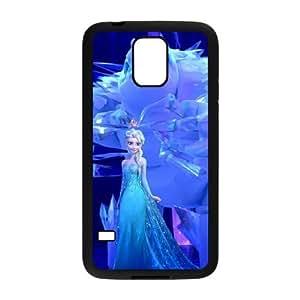 Samsung Galaxy S5 Cell Phone Case Black Disney Frozen JNR2289373