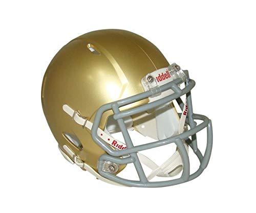 (South Bend Gold Blank Riddell Revolution SPEED Mini Football)