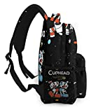 NA Unisex Cupx-Hear Travel Laptop Backpack, Water