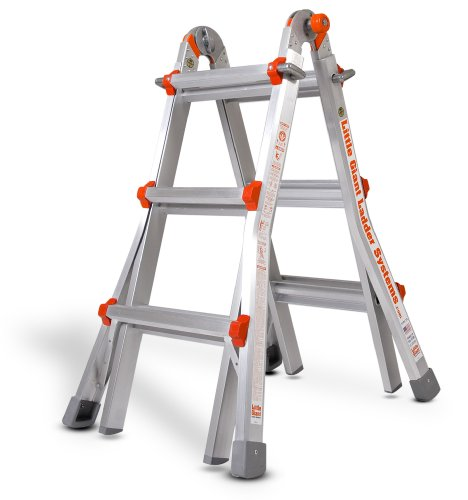 Little-Giant-Ladder-10101-Model-13-Type-1A-300-lb-rated-with-Free-Work-Platform