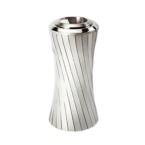 Ging Stainless Steel Trash cans,Floor Luxury Ashtray Garbage