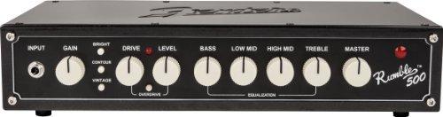Fender Rumble 500 v3 Bass Head Amplifier [並行輸入品]   B07FDRZZCQ