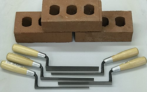Marshalltown Flat Tuckpointer/Jointer 5 pc. set of pointing tools